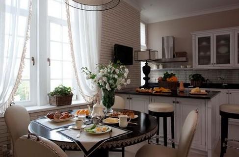 Частичка Франции на маленькой кухне в стиле Прованс