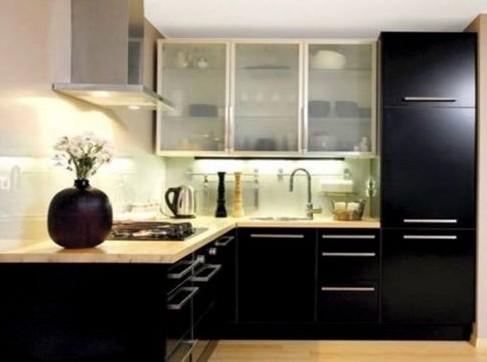 Чёрная кухня – аристократично и шикарно, если продуманно и правильно!