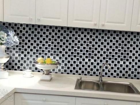 Фартук на кухне из плитки – этапы укладки