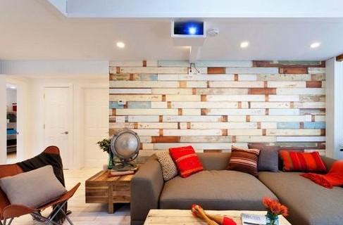 Флизелиновые обои в дизайне интерьера современного жилого помещения: примеры использования на фото