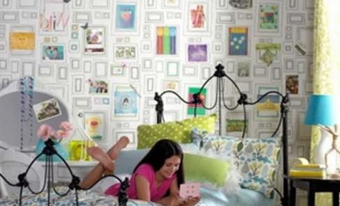 Художественные шаблоны с фото: декорирование стен трафаретами и наклейками своими руками