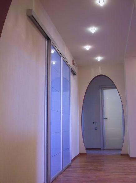 Разнообразие дизайна арки из гипсокартона в кухню