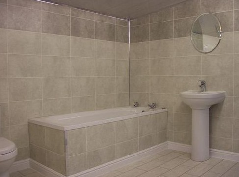 Ремонт в ванной комнате и туалете своими руками. Плитка, пластиковые панели.