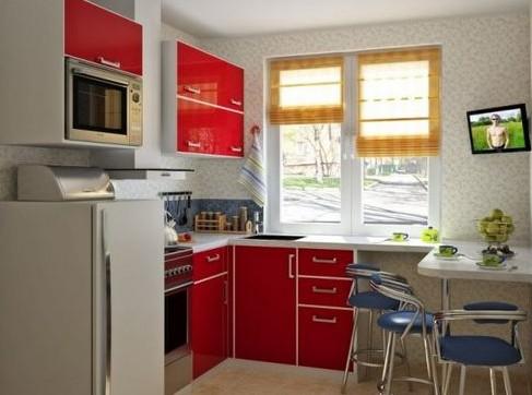 Сделать хороший ремонт и дизайн интерьера на маленькой кухни в хрущевке не является проблемой