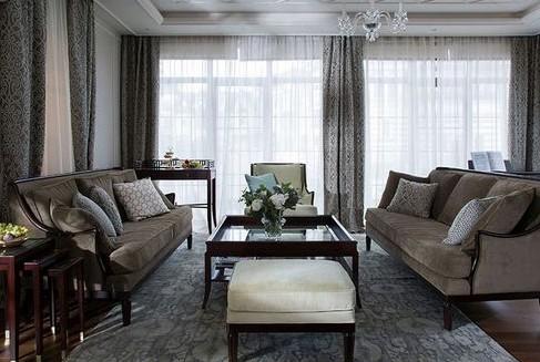 Серые обои в интерьере гостиной, спальни и кухни: сочетание цветов на фото и выбор подходящих штор