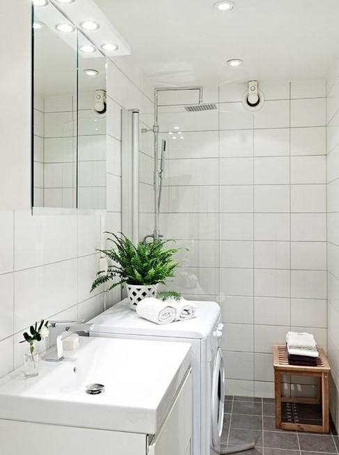 Шведская ванная комната: её преимущества и особенности