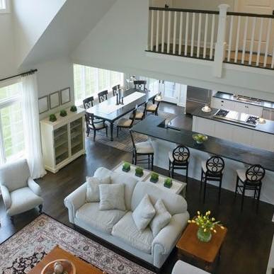 Совмещаем кухню с гостиной и живём комфортно!