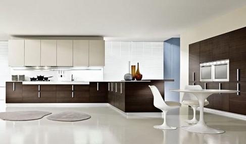 Современные кухни в стиле минимализм: ставка на функциональность