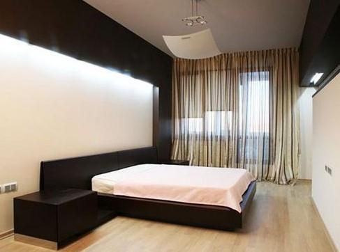 Спальня в стиле минимализм: дизайн интерьера в белых, красных и пр тонах на фото