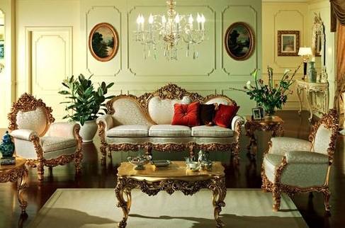 Стиль ампир в интерьере (квартиры, гостиной и пр): французский, русский и др + фото