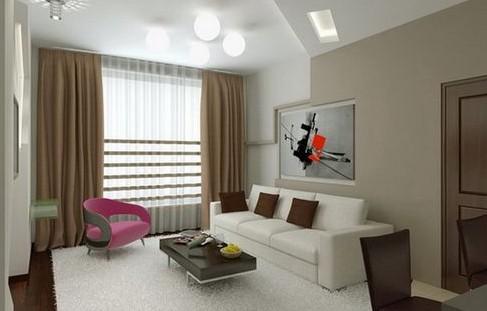 Стиль авангард в интерьере квартиры (гостиной, спальни и пр) + фото