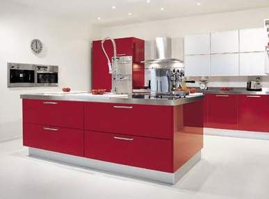 Стиль хай-тек в оформлении интерьера кухонного пространства