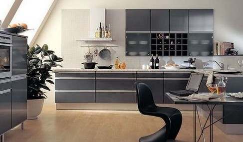 Стиль хайтек в интерьере кухни: высокие технологии