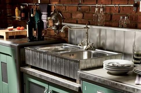 Стиль лофт на кухне — городское вдохновение для свободолюбивых людей