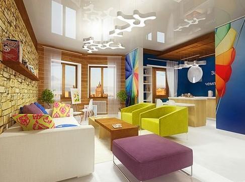 Стиль поп арт в интерьере: дизайн квартиры или комнаты (гостиной и пр) + фото