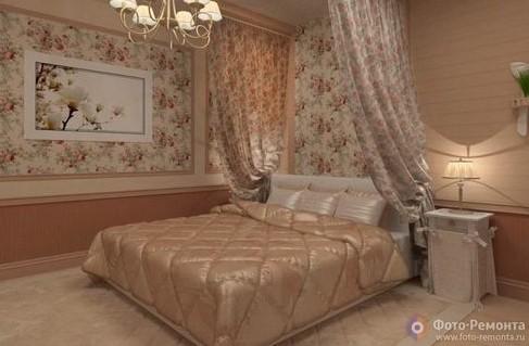 Стиль Прованс в интерьере, дизайне спальни на фото: оформление маленькой детской спальни в стиле Прованс