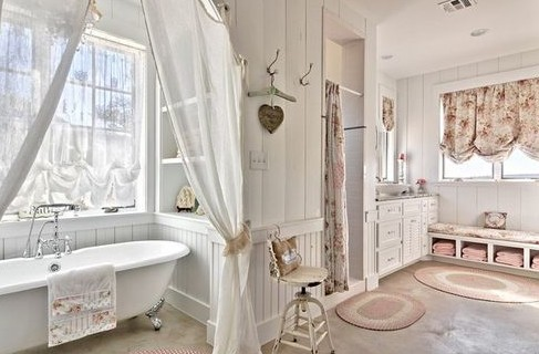 Стиль прованс в ванной комнате: мебель, дизайн, аксессуары, плитка для ванной комнаты в стиле прованс