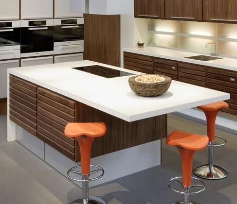Стильная столешница для кухни - обзор основных материалов