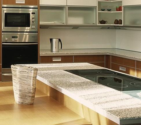 Столешница для кухонного стола — мрамор, пластик, дерево, камень Фото