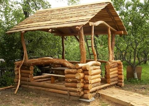 Строительство деревянной беседки своими руками на фото. Как сделать крышу беседки своими руками?