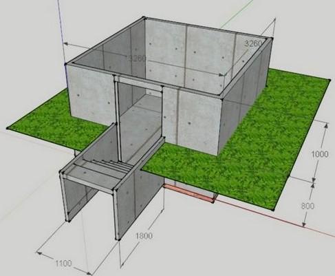 Строительство погреба в доме своими руками