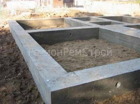 Технология строительства плитного фундамента, типы фундаментов на фото, применение в малоэтажном коттеджном строительстве