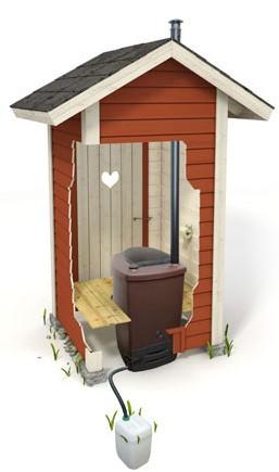 Туалет в загородном доме - легко и просто своими руками