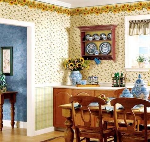 Удачный выбор цвета обоев для вашей кухни – как определиться