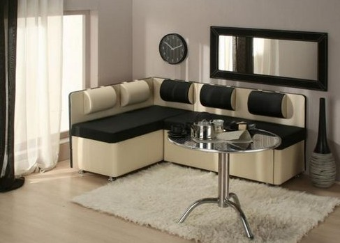 Угловой диван для кухни – удобное и многофункциональное решение