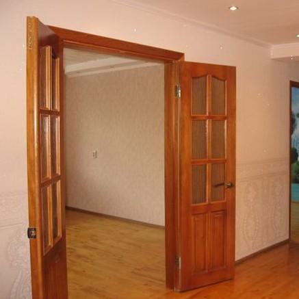 Установка двойных межкомнатных дверей. Как установить двойные распашные двери?